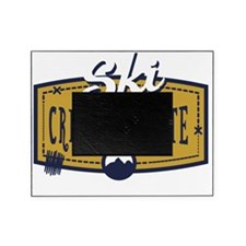 Ski Crested Butte Patch Picture Frame