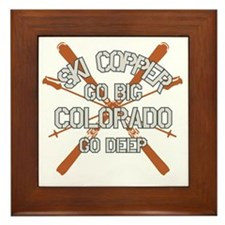 Go Big Copper Framed Tile