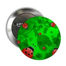 "Ladybugs 2.25"" Button"