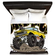 Big Yellow El Camino King Duvet
