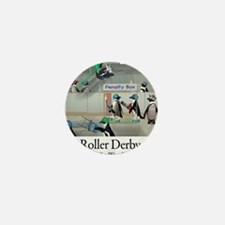 Roller Derby - Its Not Wrestling Mini Button