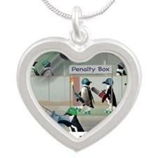 Roller Derby - Its Not Wrest Silver Heart Necklace