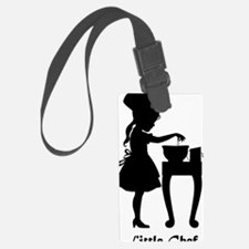Little Chef and Mixing Bowl Luggage Tag