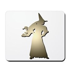 Light Brown Witch Mousepad