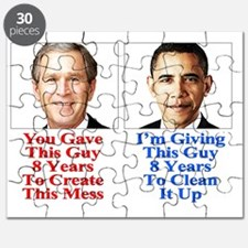 Give Obama 8-T-Shirt Puzzle