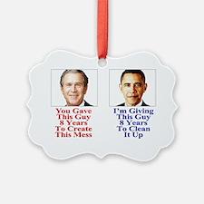 Give Obama 8 -Yard_Sign-8... Ornament