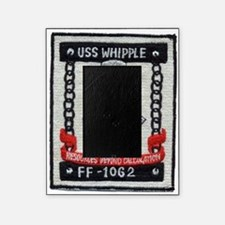 uss whipple ff patch transparent Picture Frame