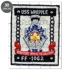 uss whipple ff patch transparent Puzzle