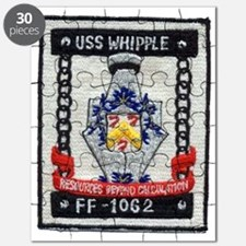 uss whipple ff patch transparent Puzzle
