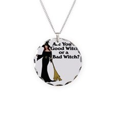 Good witch or BAD witch Necklace
