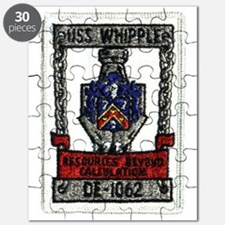 uss whipple de patch transparent Puzzle