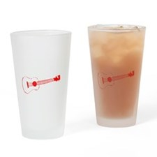 Zombie Ukulele Player Drinking Glass