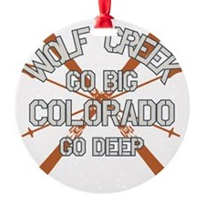 Go Big Wolf Creek Ornament
