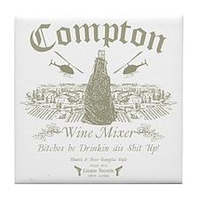 Compton Wine Mixer Tile Coaster