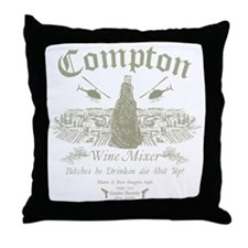 Compton Wine Mixer Throw Pillow