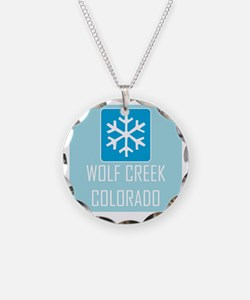 Wolf Creek Snowflake Necklace