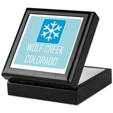 Wolf Creek Snowflake Keepsake Box