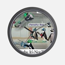 Roller Derby - Its Not Wrestling Wall Clock