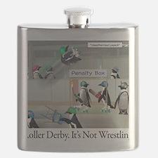 Roller Derby - Its Not Wrestling Flask