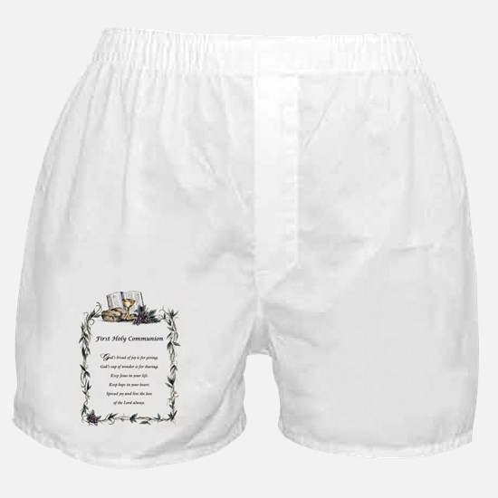 First Holy Communion Boxer Shorts