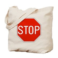 stop sign 10x10 Tote Bag