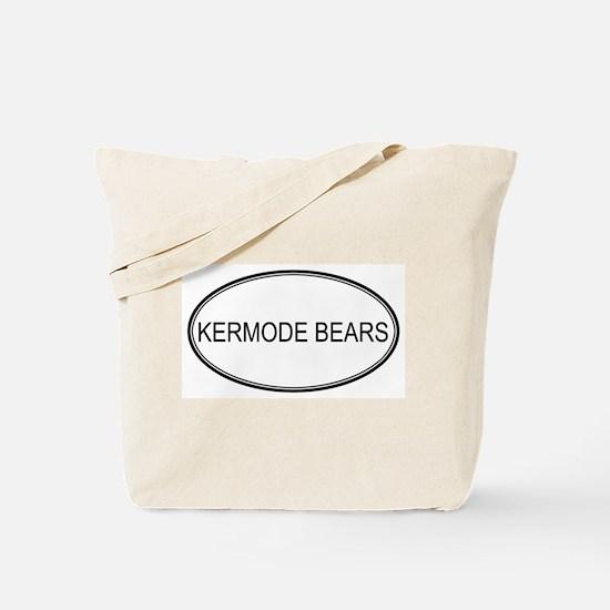 Oval Design: KERMODE BEARS Tote Bag
