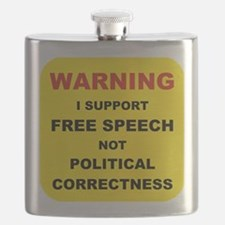 WARNING I SUPPORT FREE SPEECH... Flask