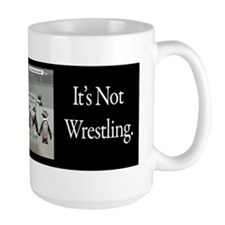 Roller Derby - Its Not Wrestling Mug