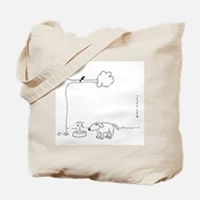 BIRD DOO DOG Tote Bag