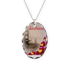 Golden Gate Bridge Necklace