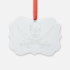 Calico Jack John Rackham Jolly Ro Ornament