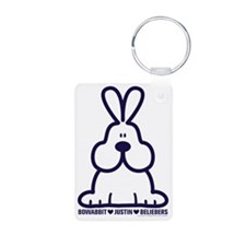 Bowabbit loves Justin  the Keychains