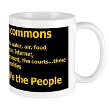 Reclaim the Commons list Mug