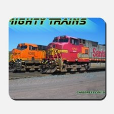 Mighty Trains Calendar Mousepad