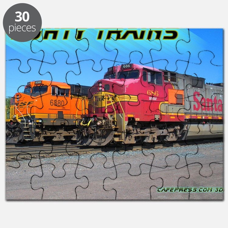 Mighty Trains Calendar Puzzle