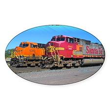 Mighty Trains Calendar Decal