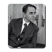 Carl Sagan, US astronomer Mousepad