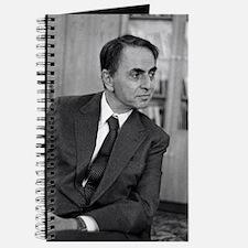 Carl Sagan, US astronomer Journal