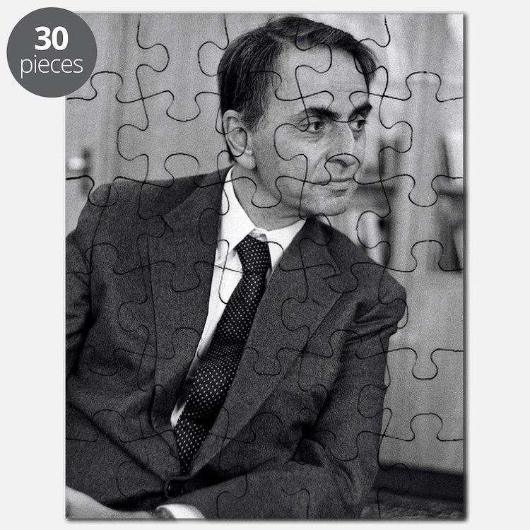 Carl Sagan, US astronomer Puzzle