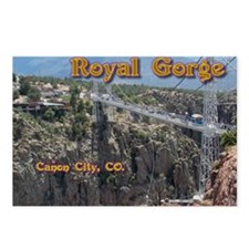 Royal Gorge Calendar Postcards (Package of 8)