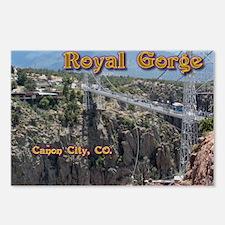 Royal Gorge Calendar Postcards (Package of 8)