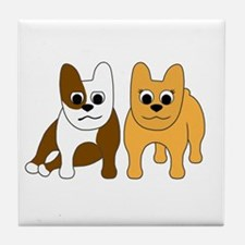 Gaston & Monique Tile Coaster