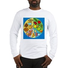 Balanced diet Long Sleeve T-Shirt