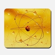 Atomic structure, artwork Mousepad