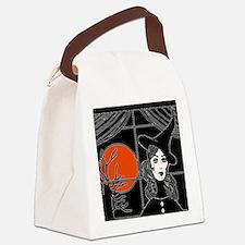 Moonlit Window Canvas Lunch Bag
