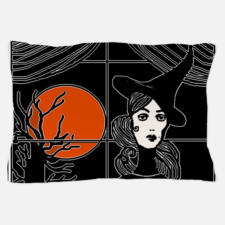 Moonlit Window Pillow Case