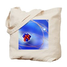 Atomic structure Tote Bag