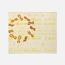 Chromosomes Throw Blanket