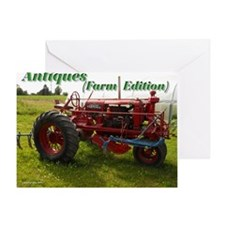 Antique Farm Equipment Greeting Card