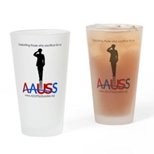 Supporting the Sacrifice Drinking Glass